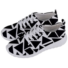 Black Triangle Men s Lightweight Sports Shoes by Simbadda
