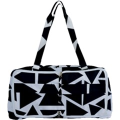 Black Triangle Multi Function Bag