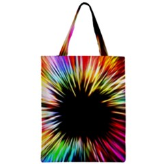 Color Background Structure Lines Classic Tote Bag by Simbadda