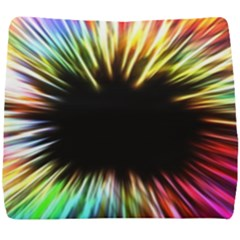 Color Background Structure Lines Seat Cushion