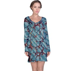 Marble Rock Comb Antique Long Sleeve Nightdress
