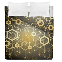 Block Chain Data Records System Duvet Cover Double Side (queen Size)