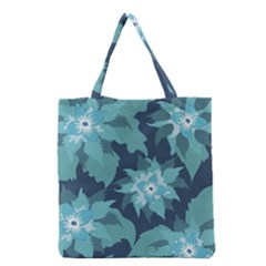 Graphic Design Wallpaper Abstract Grocery Tote Bag