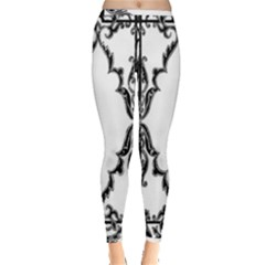 Holbein Antique Scroll Fruit Inside Out Leggings