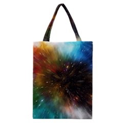 Universe Galaxy Sun Star Movement Classic Tote Bag