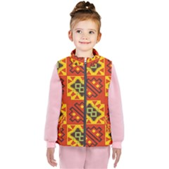 Squares And Other Shapes Pattern                                                 Kid s Puffer Vest
