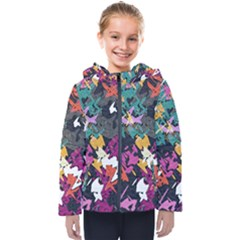Misc Shapes                                                        Kids  Hooded Puffer Jacket