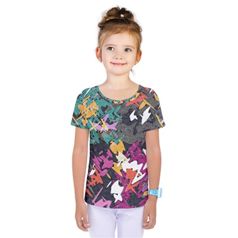 Misc Shapes                                                          Kids  One Piece Tee by LalyLauraFLM