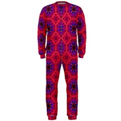 Retro Abstract Boho Unique Onepiece Jumpsuit (men)  by Simbadda