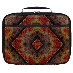 Autumn Kaleidoscope Art Pattern Full Print Lunch Bag
