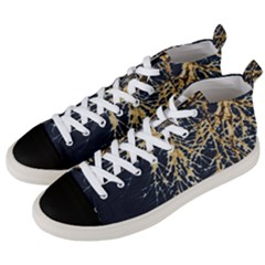 Nature Model No One Wallpaper Men s Mid Top Canvas Sneakers by Simbadda