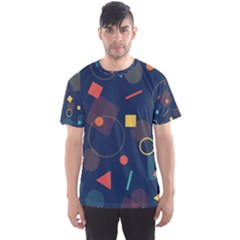 Background Backdrop Geometric Men s Sports Mesh Tee