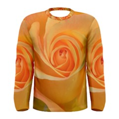 Flower Plant Rose Nature Garden Men s Long Sleeve Tee