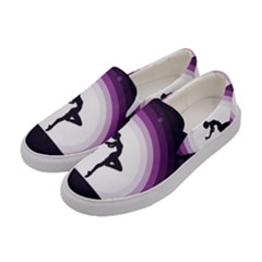 Woman Moon Fantasy Composing Night Women s Canvas Slip Ons by Celenk
