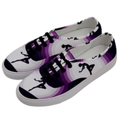Woman Moon Fantasy Composing Night Men s Classic Low Top Sneakers by Celenk