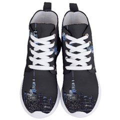 New York Skyline New York City Women s Lightweight High Top Sneakers by Celenk