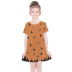 Flintstone Kids  Simple Cotton Dress by Wanni
