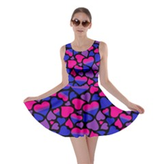 Bisexual Pride Hearts Skater Dress by PrideMarks
