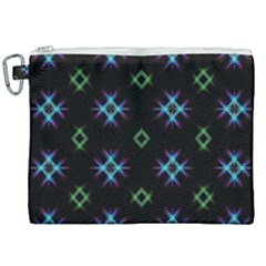 Background Abstract Vector Fractal Canvas Cosmetic Bag (xxl)