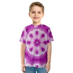 Pattern Abstract Background Art Kids  Sport Mesh Tee by Celenk