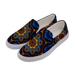 Pattern Abstract Background Art Women s Canvas Slip Ons by Celenk