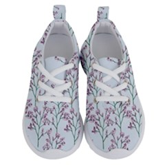 Flower Pattern Pattern Design Running Shoes by Celenk