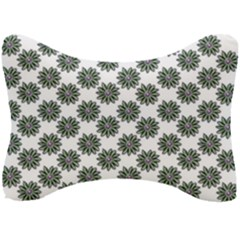 Graphic Pattern Flowers Seat Head Rest Cushion by Celenk