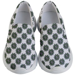 Graphic Pattern Flowers Kid s Lightweight Slip Ons