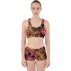 Plant Leaves Foliage Pattern Work It Out Gym Set by Celenk
