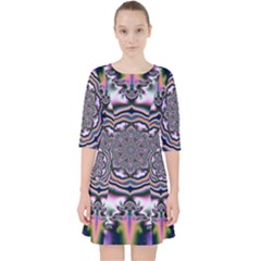 Pattern Abstract Background Art Pocket Dress