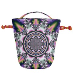 Pattern Abstract Background Art Drawstring Bucket Bag