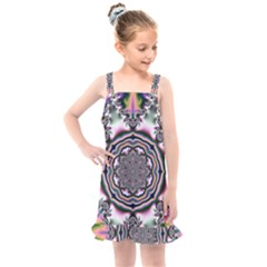 Pattern Abstract Background Art Kids  Overall Dress