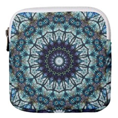 Pattern Abstract Background Art Mini Square Pouch