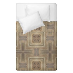Abstract Wood Design Floor Texture Duvet Cover Double Side (single Size) by Celenk