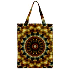 Pattern Abstract Background Art Zipper Classic Tote Bag