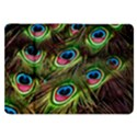 Peacock Feathers Color Plumage Samsung Galaxy Tab 8.9  P7300 Flip Case View1