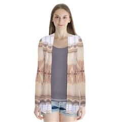 Wells Cathedral Wells Cathedral Drape Collar Cardigan by Celenk