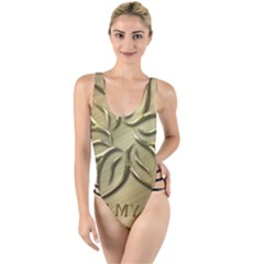 You Are My Star High Leg Strappy Swimsuit