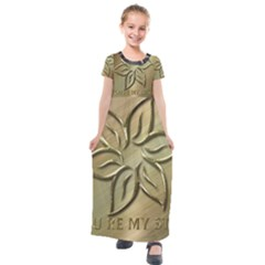 You Are My Star Kids  Short Sleeve Maxi Dress by NSGLOBALDESIGNS2