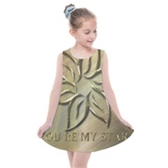 You Are My Star Kids  Summer Dress by NSGLOBALDESIGNS2