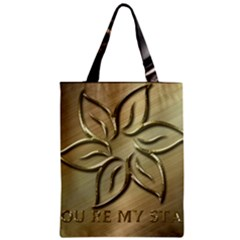 You Are My Star Zipper Classic Tote Bag by NSGLOBALDESIGNS2