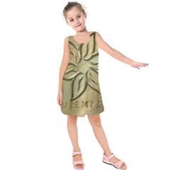 You Are My Star Kids  Sleeveless Dress by NSGLOBALDESIGNS2