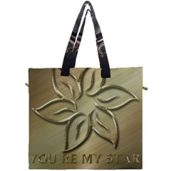 You Are My Star Canvas Travel Bag by NSGLOBALDESIGNS2