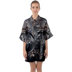 Jesus Quarter Sleeve Kimono Robe by NSGLOBALDESIGNS2
