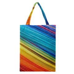 Rainbow Classic Tote Bag by NSGLOBALDESIGNS2