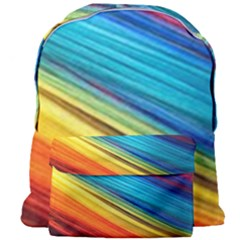Rainbow Giant Full Print Backpack by NSGLOBALDESIGNS2