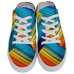 Rainbow Half Slippers by NSGLOBALDESIGNS2