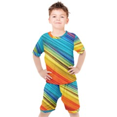 Rainbow Kid s Set by NSGLOBALDESIGNS2