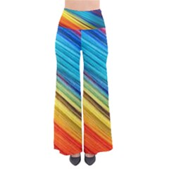 Rainbow So Vintage Palazzo Pants by NSGLOBALDESIGNS2
