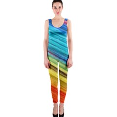 Rainbow One Piece Catsuit by NSGLOBALDESIGNS2